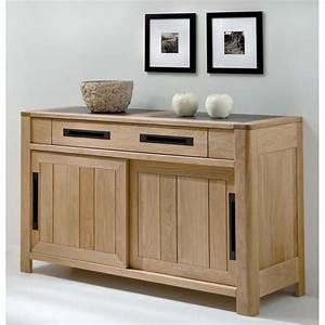 Bahut 2 Portes : bahut 2 portes deauville petit mod le meubles de normandie ~ Teatrodelosmanantiales.com Idées de Décoration