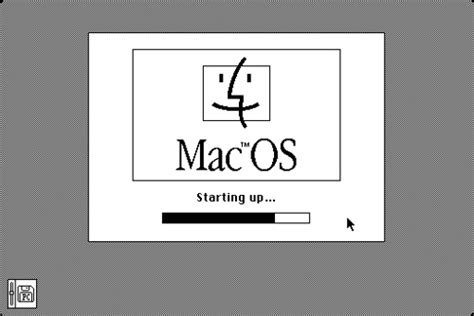 how to start up your mac in apple diagnostics or apple system 7 5 5 mac os startup screen released in