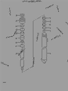 Lift Cylinder V-mast  - Fork Lift Hyundai Hbf18iii