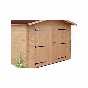 Garage Bois 20m2 : garage bois douglas un garage madrier 28 mm ~ Melissatoandfro.com Idées de Décoration