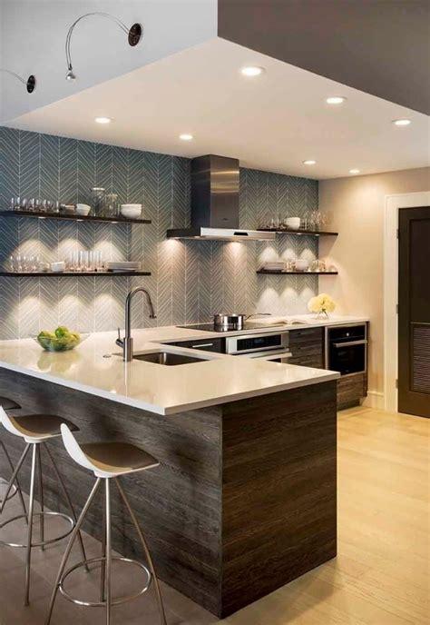 bright accent light ideas   kitchen