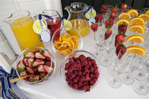 Let Your Light Shine by Cocktail Friday Brunch Mimosa Bar Ces Amp Judy S Catering
