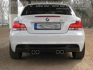 Bmw 335i Performance Auspuff : 1 series bmw e82 e88 4 tip m1 look quad custom exhaust ~ Jslefanu.com Haus und Dekorationen