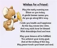 Best Friend Birthday Wishes Poems