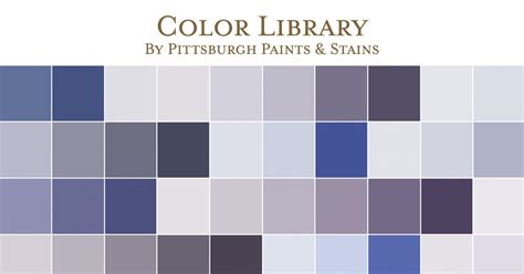 Paint Color Library  Pittsburgh Paints & Stains
