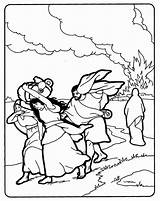 Bible Wife Coloring Sodom Abraham Sodoma Gomorra Sunday Children David Crafts Saul Salt Colorear Run Activities Bibbia Della Turned Scuola sketch template