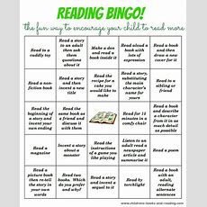 Bingo Reading Activity At Children's Books And Reading This Is Such A Fun And Engaging Way To