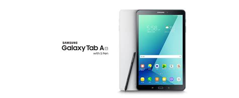 samsung with galaxy tab a 2016 with s pen officially launched sammobile