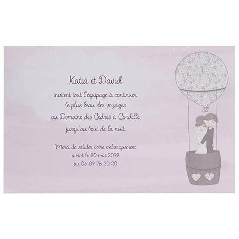 texte pour faire part de mariage original faire part mariage humoristique montgolfi 232 re regalb jl3263