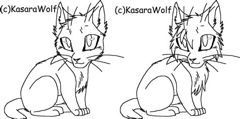 warrior cat template warrior cats kits template by kasarawolf on deviantart