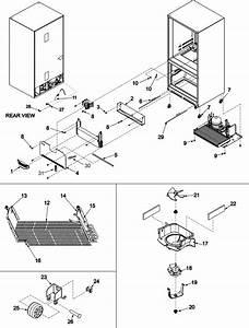 Maytag Refrigerator Mod  Mf C2061 Hew Sn  1293 7443 Jg The