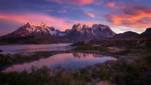 Sunset Mountain Landscape Wallpaper | HD Desktop Background