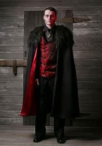 Halloween Kostüm Vampir : adult deluxe men 39 s vampire costume ~ Lizthompson.info Haus und Dekorationen