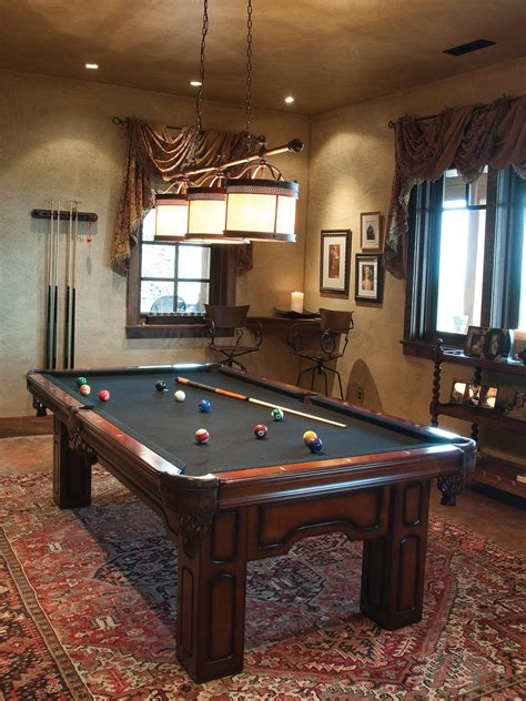 pool table in a small room photo page hgtv