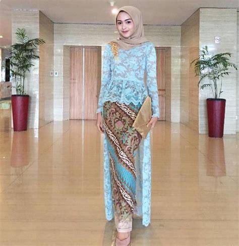 model baju kebaya batik modern terbaru model baju