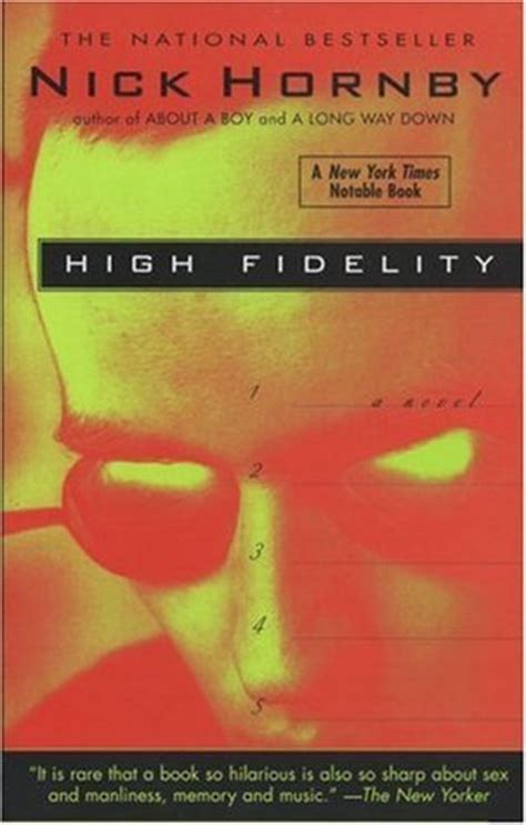 high fidelity  nick hornby reviews discussion