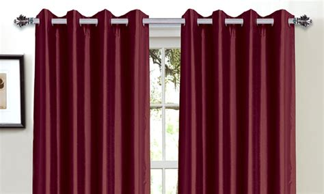 Bella Luna Faux-silk Foam-back Blackout Curtains Motorcycle Helmet Chin Curtain Installing A Shower Rod Shell Door Red Curtains For Sale Conservatories What Is An Iron White Sheer Linen Theater Names
