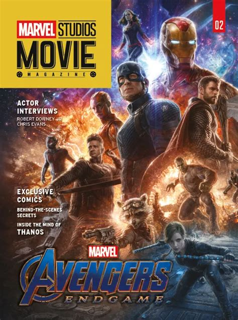New Magazine Cover Reveals Glorious Avengers Endgame
