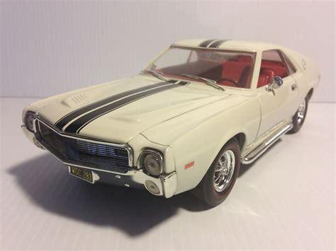 Ertl 1968 Amc Amx Muscle Car White 1