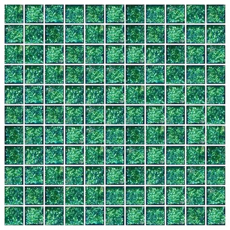 turquoise floor tile turquoise teal green dichroic glass tile full sheet 1 quot x1 quot contemporary wall and floor tile
