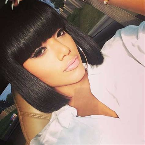 Black Hairstyles Bob With Bangs by 15 Bobs For Black Bob Hairstyles 2018