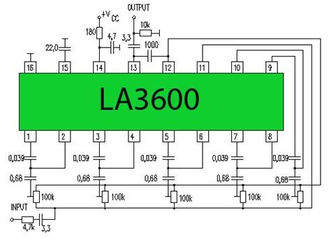 Wiring Diagram Pre Eq by 5 Channel Equalizer La3600 Updated One Type Of Pre