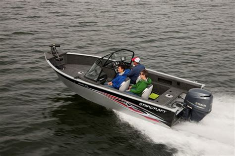 Starcraft Fishing Boats Reviews by 2014 Starcraft Starfish 176 Aluminum Fishing Boat Review
