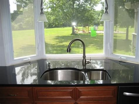 bay window kitchen sink sink and bay window extend counter into window new 7613