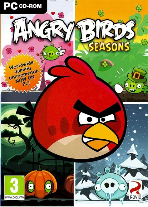 angry birds seasons pc game dvd xpvistanewsealed