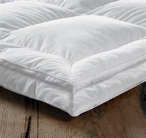 euroquilt european duck down combi king size bed mattress With european feather bed