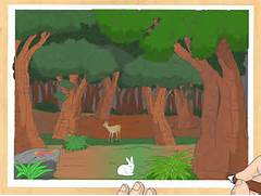 Ways to Draw a Forest - wikiHow  Jungle Drawing With Animals