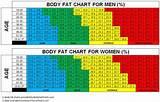 Body fat percentage chart women