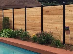 Cloture Jardin Bois : bois cloture closdestreilles ~ Premium-room.com Idées de Décoration