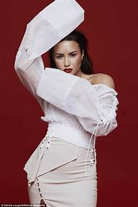Demi Lovato flashes underboob and tum for sultry shoot ...