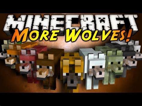 minecraft mod showcase  wolves screeeaaam
