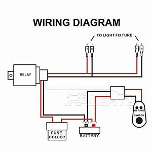 Led Light Bar Wiring Diagram With Switch