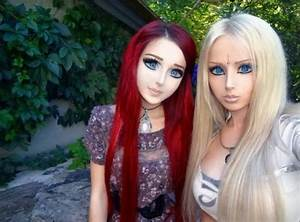 Ukraine's Anime Girl and Real Barbie Meet Face-to-Barely ...