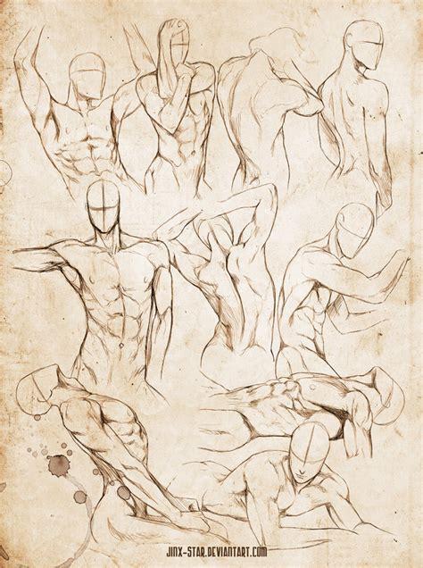 Male Body Study Vi By Jinx Star On Deviantart