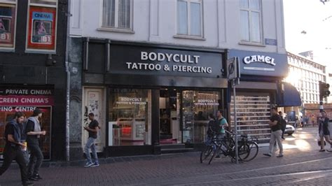 tattoo studio body cult reguliersbreestraat amsterdam