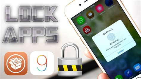 how to lock apps on iphone how to lock apps folders on ios 9 with passcode touch id