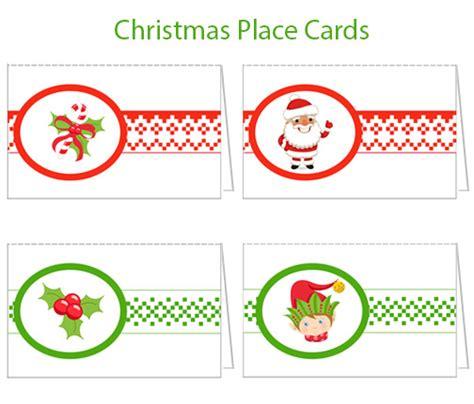 free printable christmas table place cards template printable christmas place cards christmas tree farm