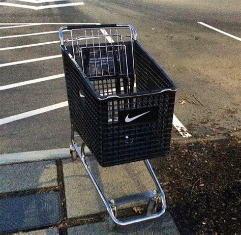 black fitness nike shoes shopping shopping cart