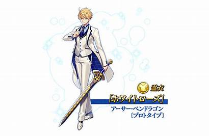 Fate Rose Arthur Prototype Pendragon Costume Fgo