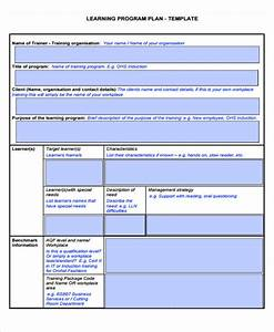 learning plan templates 10 free samples examples format With personal learning plan template