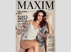 Rakul Preet Singh Hot Bikini Pose to Maxim Magazine 2018