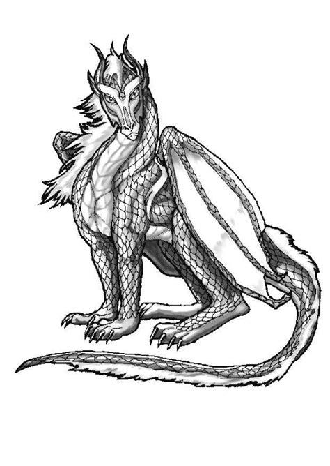coloriage dragon atlantique coloriages gratuits  imprimer dessin