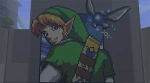 Minecraft Link Pixel Art by CHIPINATORs on DeviantArt