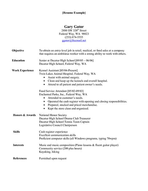 kennel assistant resume no experience 28 images