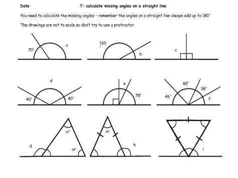 5 best images of angles around a point worksheet what is