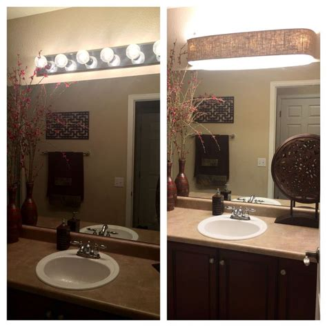 Bathroom Light Cover by 5266 Best Budget Diy Bathroom Lighting Images On
